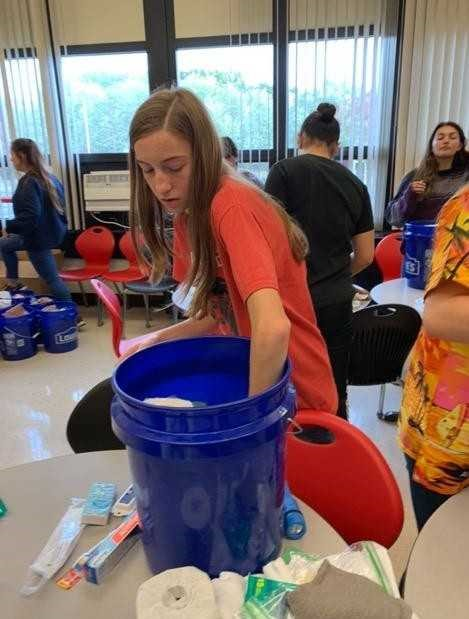 Spanish Club Hurricane Relief Efforts