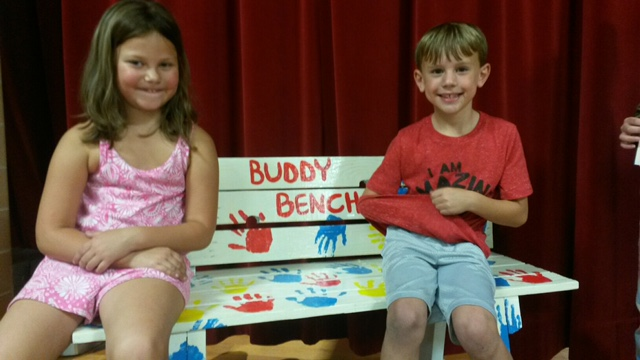 Our new Buddy Bench!!